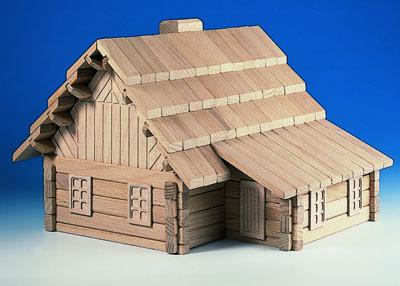 Archa houten huizen